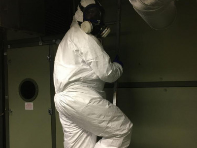 AHU Maintenance against COVID-19